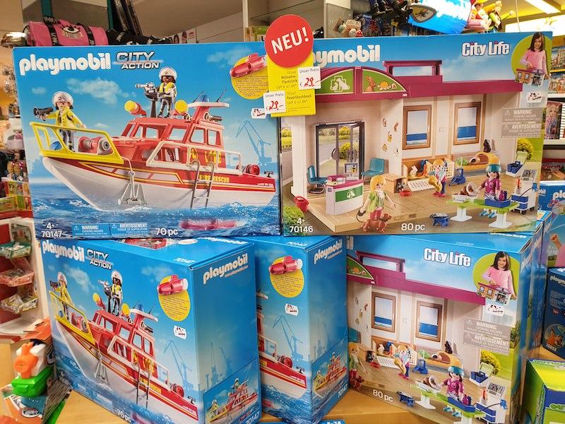 Playmobil Feuerwehr-Boot-Tierklinik